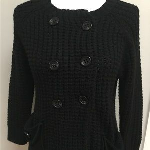 BCBG Double Breasted Sweater